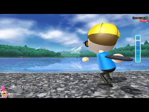 Wii Play: Motion - Skip Skimmer Mode continuous play! Player Daddy !! [1080p@60fps HD]
