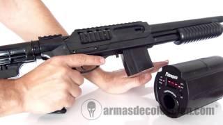 Escopeta Mossberg 500 LE stock armasdecoleccion.com