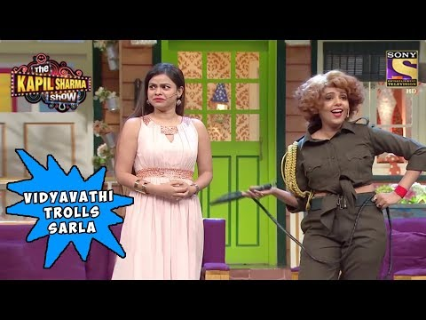 Vidyavathi Makes Fun Of Sarla's Outfit - The Kapil Sharma Show
