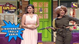 Vidyavathi Makes Fun Of Sarla's Outfit - The Kapil Sharma Show