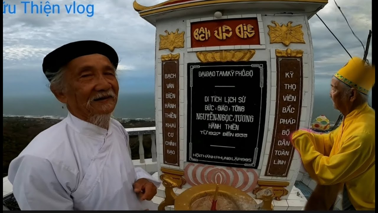 Bạch vân Điện trên núi Minh Đạm, lịch sử cao đài ban chỉnh đạo, Đức giáo Tông Nguyễn Ngọc Tương