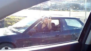 Road Rage Instant Karma in Vancouver