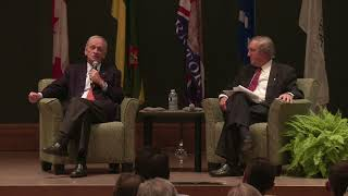 A U Of S Canada 150 Conversation With Former Prime Minister Jean Chretien