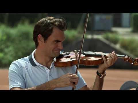 Lucerne Festival - Roger Federer: Racket vs. Violin?