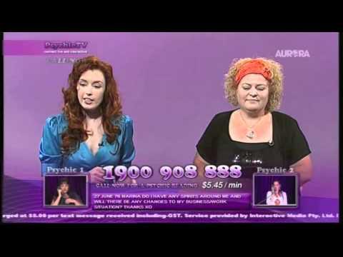 Medium Zoe McDonald ~  Psychic TV - Marina 27.06.76.m4v