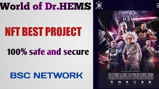 new space based Blockchain game World of Dr.HEMS nft gaming best project