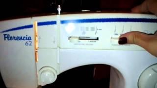 Maquina de coser FLORENCIA 62 de ERIKA.- ML.