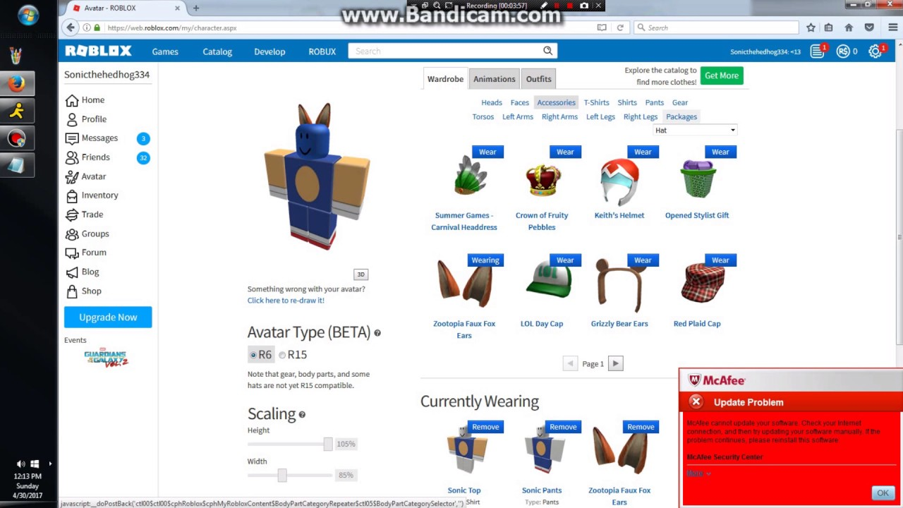How To Look Like Sonic In Roblox Youtube