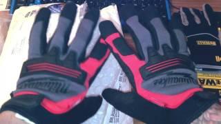 Посылка из США#1. Перчатки(Milwaukee, Dewalt,Wark gear), Zoom h-1.