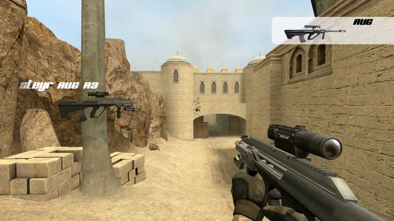 how to play cs 1.6 maps in css