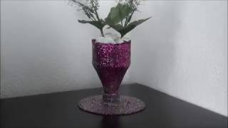 How to Make a Vase out of a Plastic Bottle - DIY Crafts
