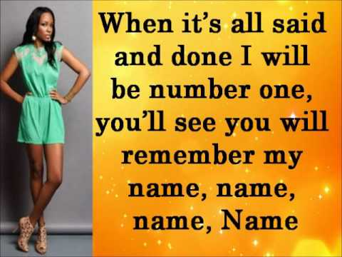 Empire  Cast Remember My Name -Ft Sierra McClain, & Yazz Lyrics &