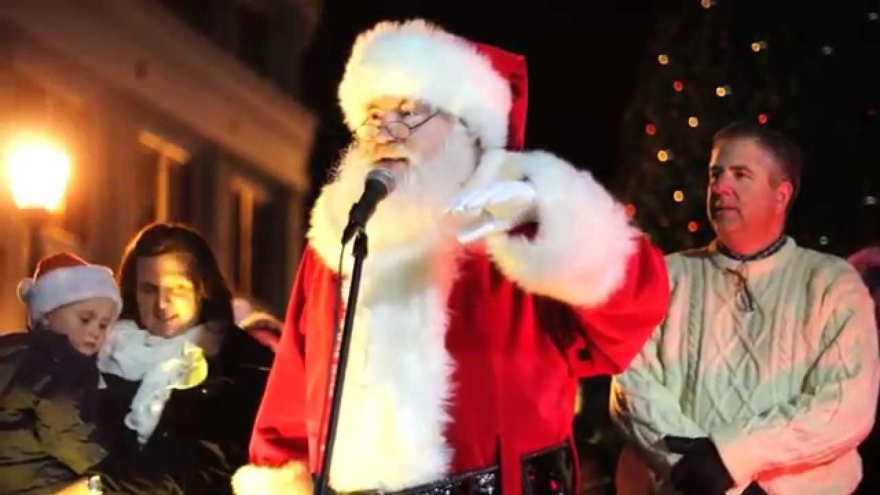 Somerville Christmas Tree Lighting 2014 * Filmed With The