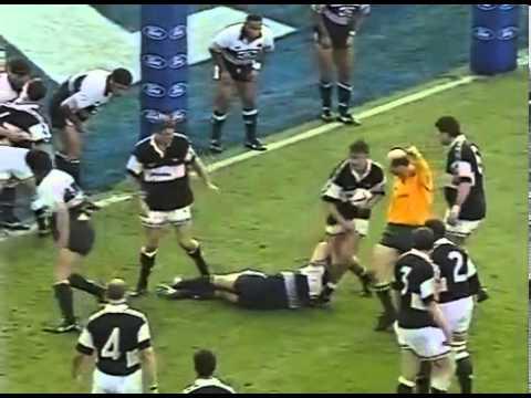 Auckland Blues Vs Natal Sharks 1996 Super 12 Final YouTube