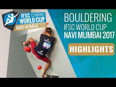 IFSC Climbing World Cup Navi Mumbai 2017 - Finals Highlights