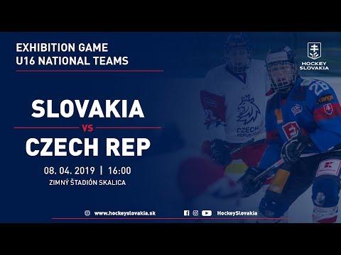 U16 Exhibition Game   Slovakia Vs Czech Republic
