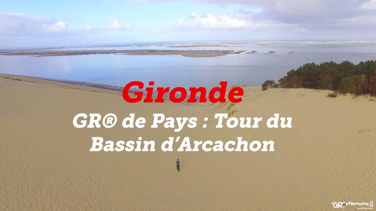 Gr De Pays Tour Du Bassin D Arcachon Mon Gr