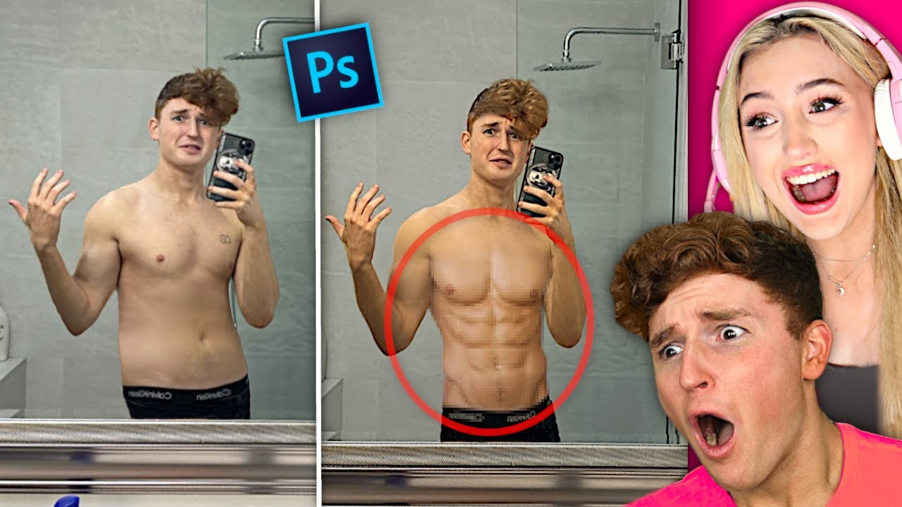 Download I Let My Girlfriend PHOTOSHOP ME HOTTER..