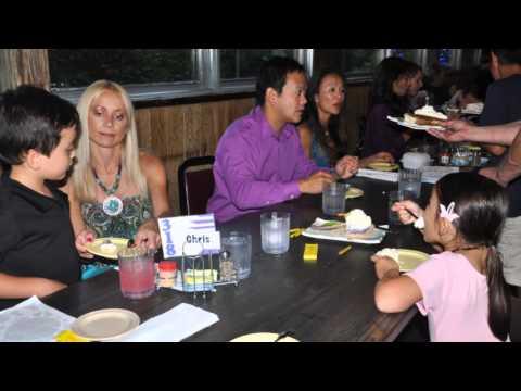 2013-08-03 Dr  Tu & Our Family Dinner at Bob Chinn's Crab House 全家及好友的海鮮盛宴