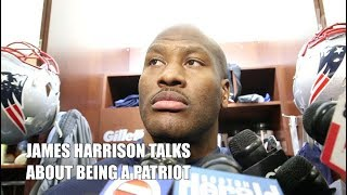James Harrison talks about joining the New England Patriots