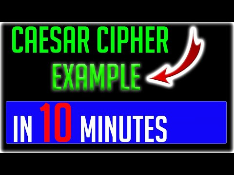 Caesar Cipher Encryption And Decryption With Example 2