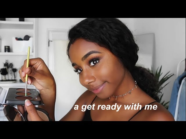 a fancy get ready with me