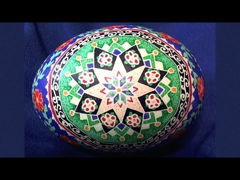 Ukrainian Egg Art - Pysanky Photos Step by Step - Ukraine Easter Eggs Pysanka