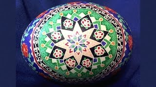Ukrainian Egg Art - Pysanky Photos Step by Step - Ukraine Easter Eggs Pysanka