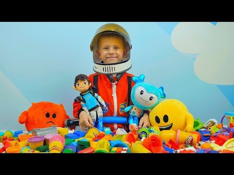 Мультик для Детей Спасение Яркости. Космонавт Даник и Майлз против Космических Пиратов. Мультфильмы