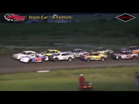 Stock Car Feature - Park Jefferson Speedway - 6/30/18
