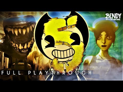 How Will it End? | Bendy & the Ink Machine Chapter 5 (Full Playthrough)