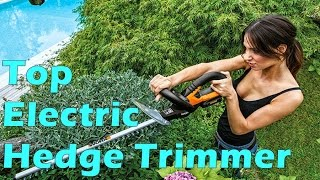 Top 5 Best Electric Hedge Trimmer 2018