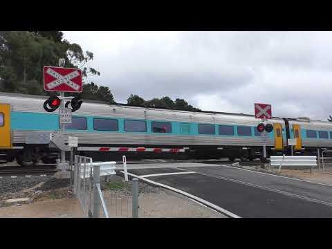 Level Crossing, Marrangaroo NSW, Australia.
