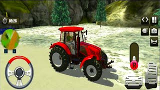 Heavy Tractor Trolley Cargo Simulator - Android GamePlay - Simulator Games Android #2