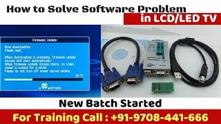 How to Solve Software problems in LCD/LED TV Moniters,Bios Memory program,firmware issues#p@1 N.Soni