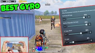 NEW BEST SETTINGS AND SENSIVITY🔥 iPhone 8 Plus PUBG MUNNO | 4 Finger + Full GYRO |  #92
