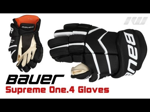 Bauer Supreme ONE.4 Hockey Glove Review