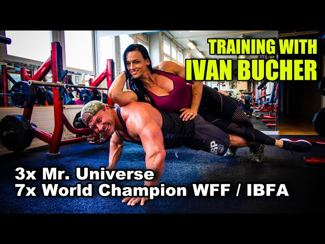 Training with 3x Mr. Universe | Arm Workout | Cindy Landolt