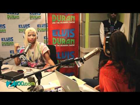 Nicki Minaj Interview @ Z100 05/04/2012