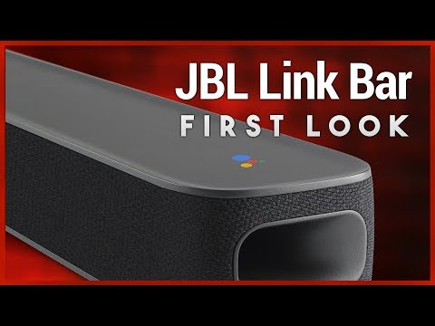 JBL Link Bar First Look - Soundbar with Android TV & Google Assistant Built-In