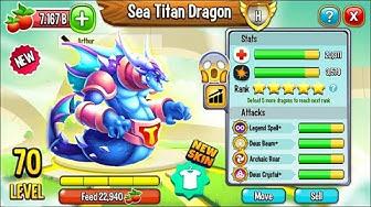 Dragon City: Sea Titan Dragon, NEW LEGENDARY | EXCLUSIVE DRAGON! 😱