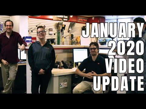 January 2020 Video Update From Turf Equipment And Supply Company