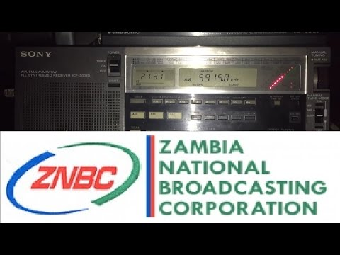 Zambia NBC Radio 1, 5915 kHz, Lusaka, clearest reception to-date