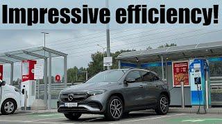 Mercedes-Benz EQA Range, Efficiency & Charging Test!