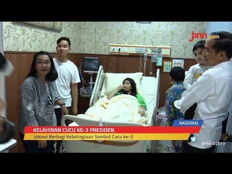 Jokowi dan Keluarga Sambut Kelahiran La Lembah Manah