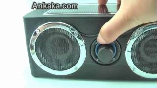 How to Use Super Boom Speaker + Solar Charger + MP3 Player 3 IN 1