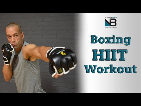 30 Minute HIIT Boxing workout