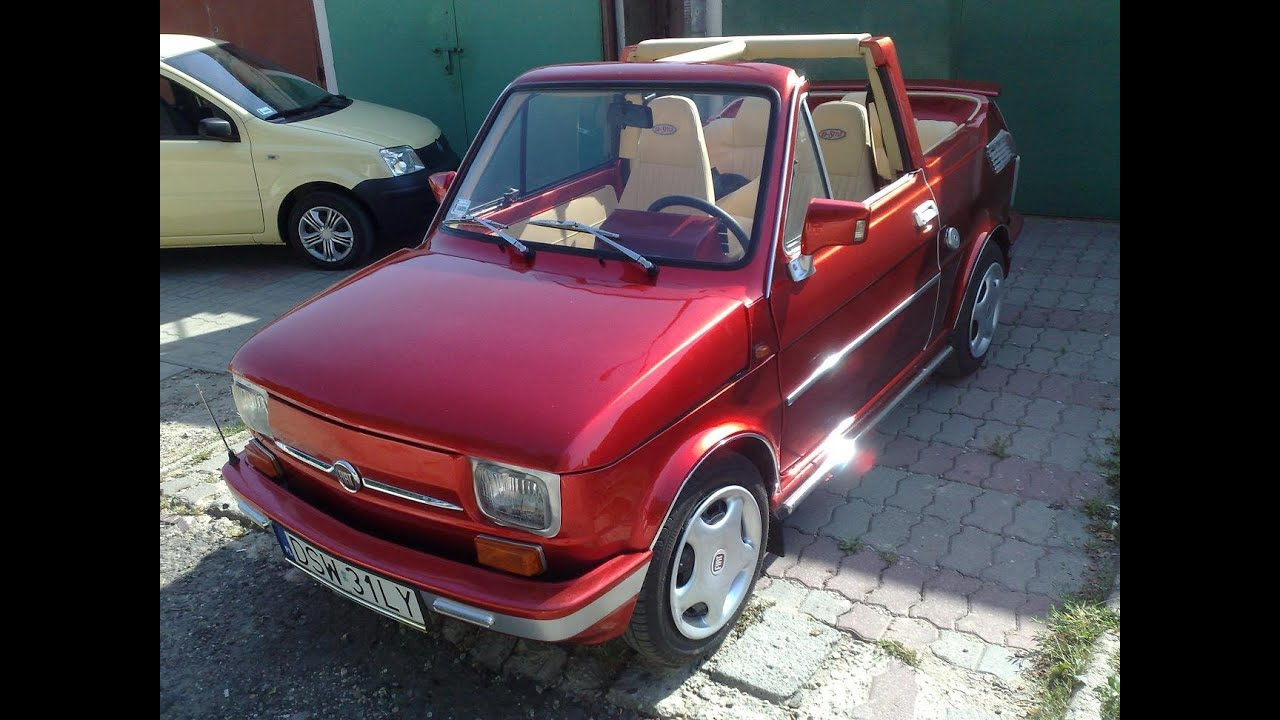 fiat 126p cabrio w widnicy youtube. Black Bedroom Furniture Sets. Home Design Ideas