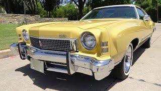 1973 Chevrolet Monte Carlo 25K Mile Original Survivor!