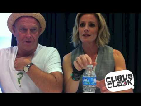 Corbin Bernsen and Kirsten Nelson of Psych @ 2012 SDCC